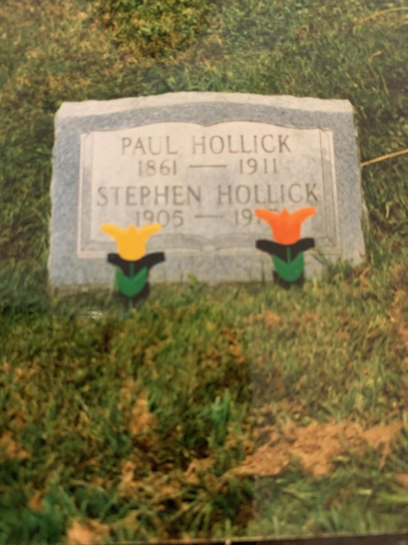 Paul hollick grave